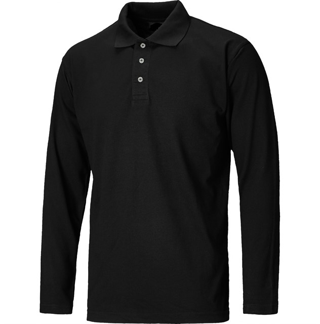 polo-long-sleeve-black-YB2498