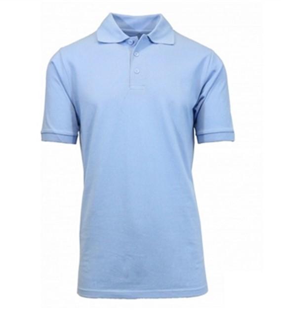 חולצת פולו קצר YB2650 תכלת