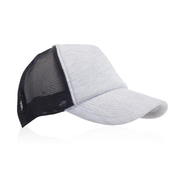 כובע מצחיה דגם ליאם YB2222 אפור