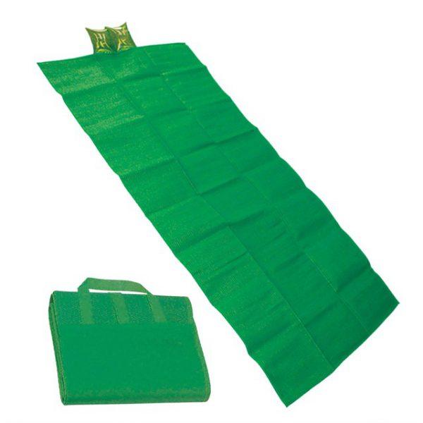 מחצלת חוף צבע ירוק
