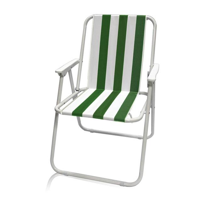 כסא מתקפל דגם נוף צבע ירוק