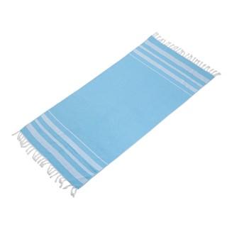 מגבת חוף כותנה כחול