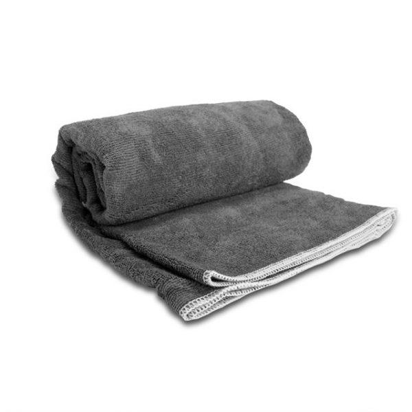 מגבת חוף צבע אפור
