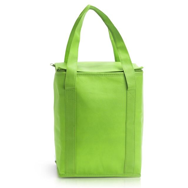 צידנית מרובעת צבע ירוק