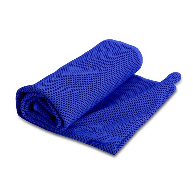 מגבת קירור דגם קולד כחול