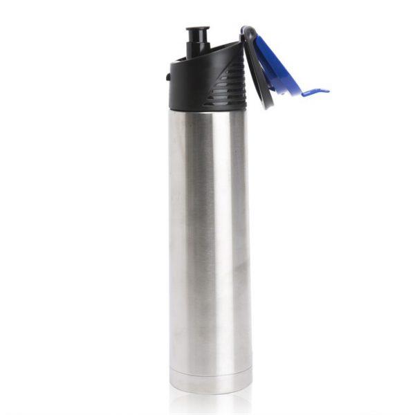 בקבוק דגם הייטק צבע כחול