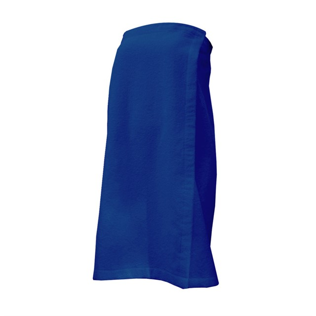 מגבת עם סגר סקוץ צבע כחול