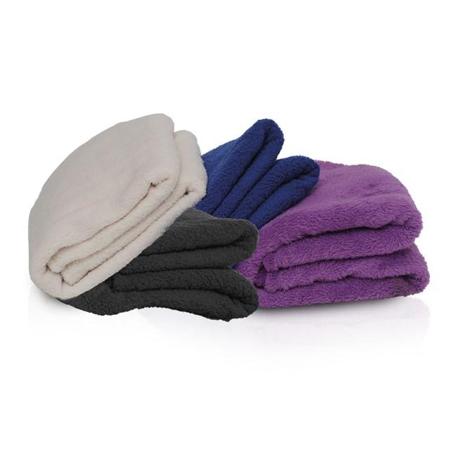 שמיכה דגם לולי במבחר צבעים