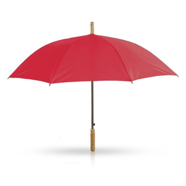 מטריה דגם ברק צבע אדום