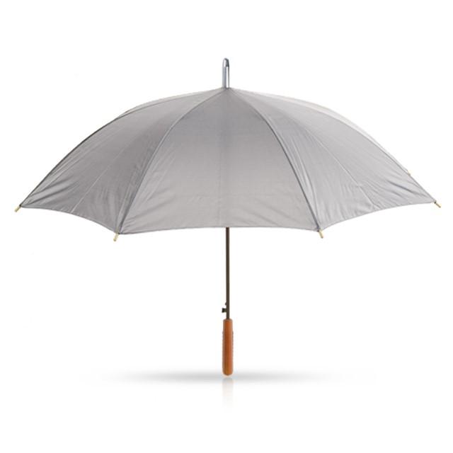 מטריה דגם קולוני אפור