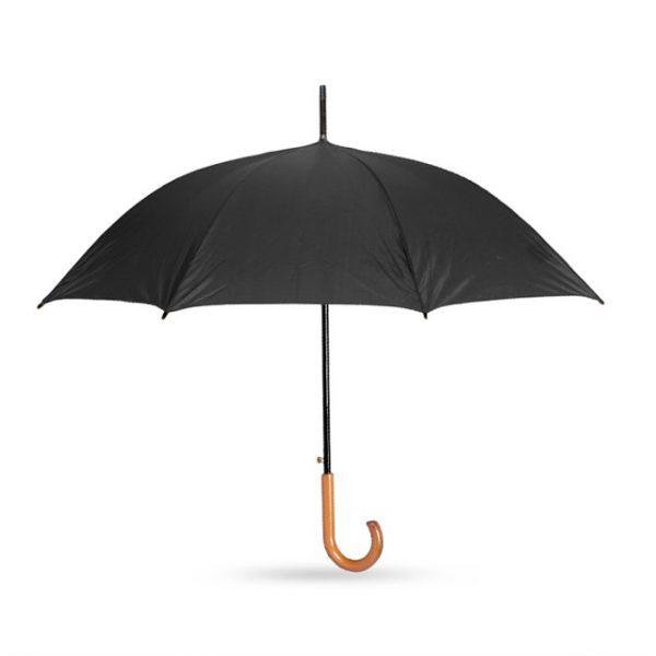 מטריה דגם לומה צבע שחור