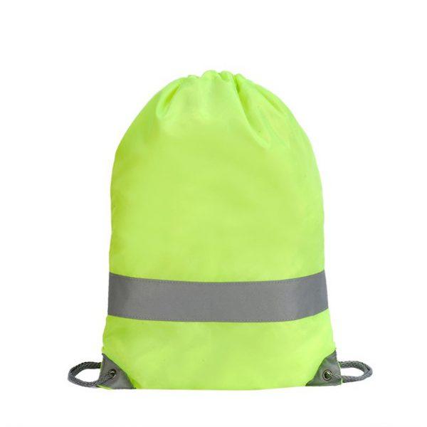 תיק שרוכים זוהר צבע צהוב