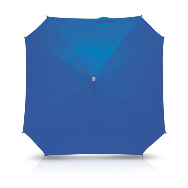 מטריה מרובעת דגם סקוויר כחול