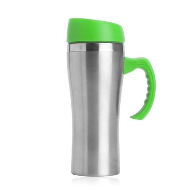 כוס תרמית דגם בורד צבע ירוק