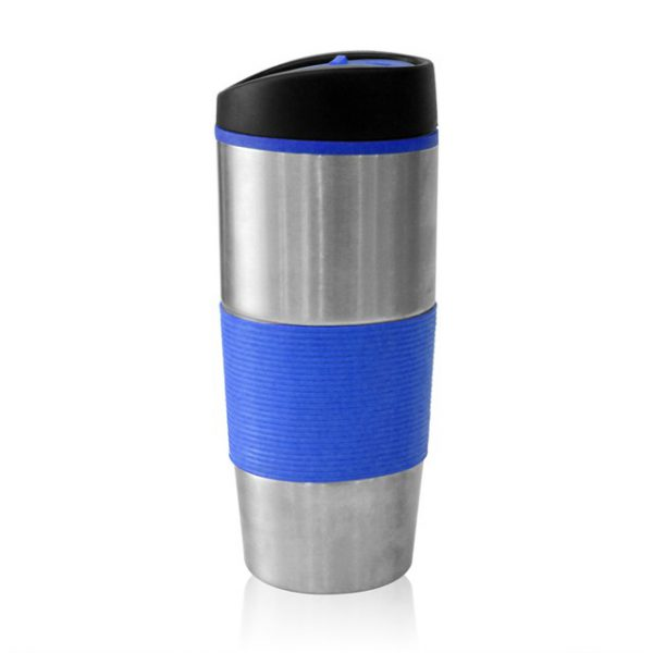 כוס תרמית מעוצבת דגם מאלאם כחול