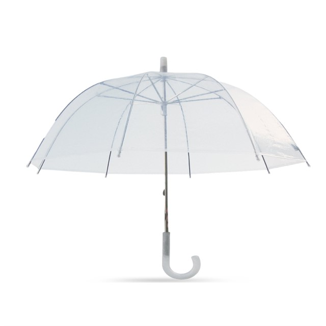 מטריה שקופה דגם שקופית