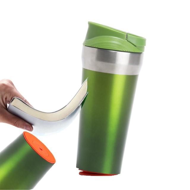 כוס תרמית דגם שון צבע ירוק