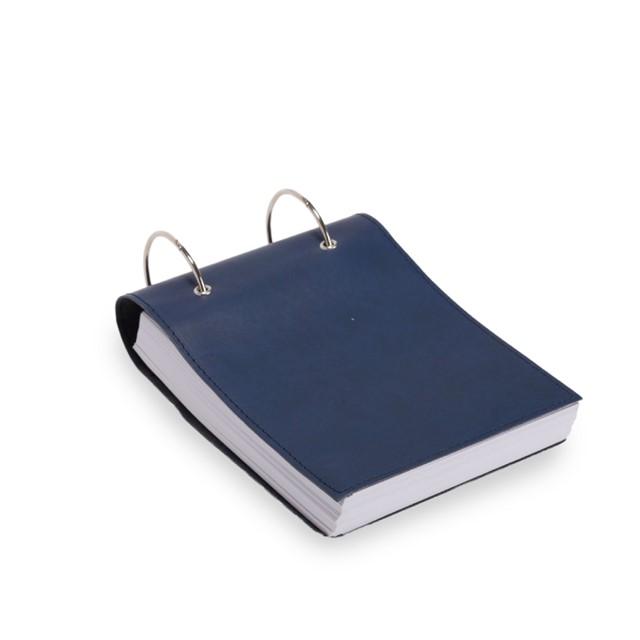 פנקס דגם קורי כחול