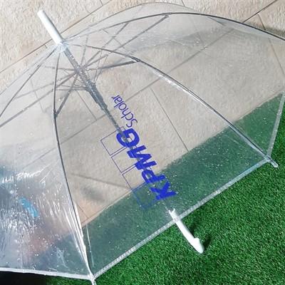 מטריה שקופה ממותגת