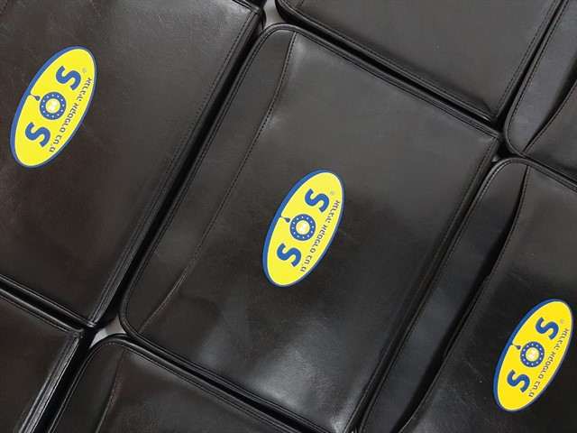 תיקים ממותגים לחברת SOS