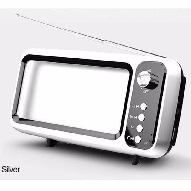 רמקול דגם TV צבע לבן